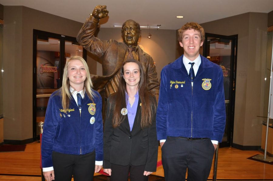 Two+awards+given+at+State+FFA+convention