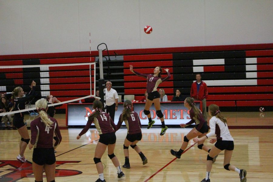 Volleyball+vanquished+at+North+Polk