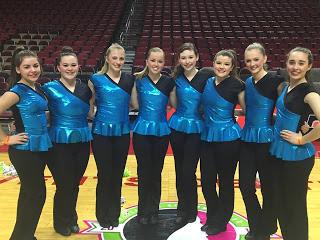 All-Iowa Honor Dance team makes their appearance