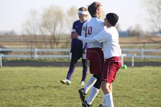 Soccer boys win. Sportsmanship denied