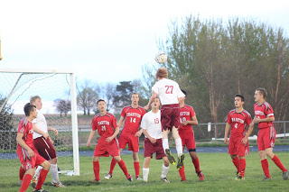 Boys' soccer ends with even week