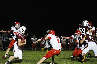 Mustangs dominate en route to first win