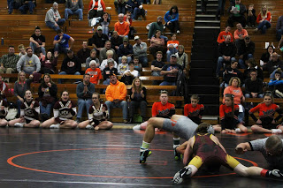 Mustang wrestlers win two at Pleasantville