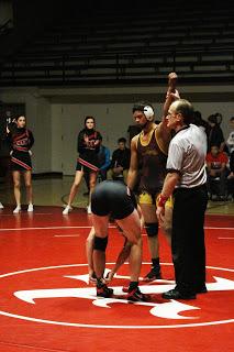 Uphill battle for varsity wrestlers