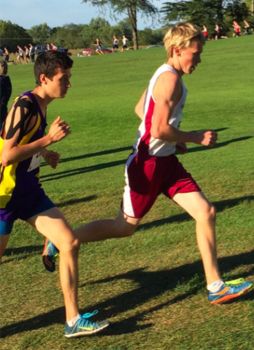 Mustang cross country brings the competition