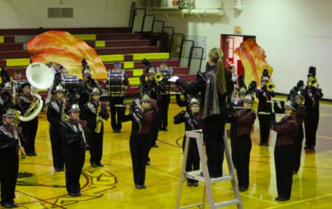 Band, choir perform Fall Concert