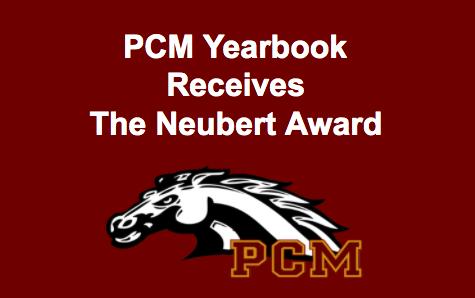 PCM Yearbook receives Neubert award
