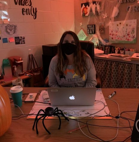 Which teacher has the scariest classroom?