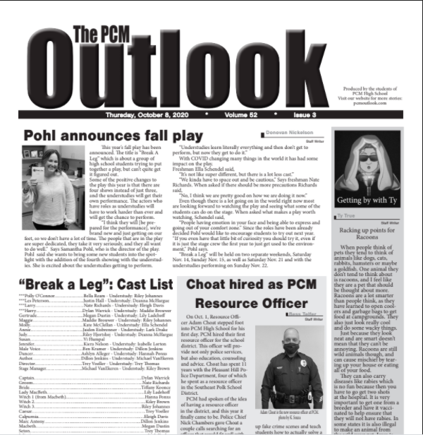 The Outlook - Oct. 8, 2020