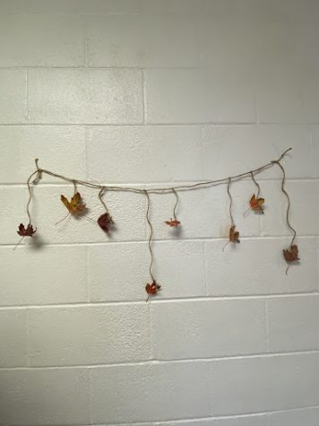 Falling leaves DIY