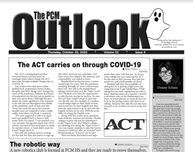 The Outlook - Oct. 29, 2020
