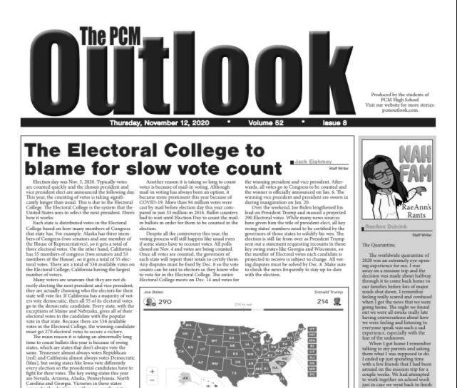 The Outlook - Nov. 12, 2020