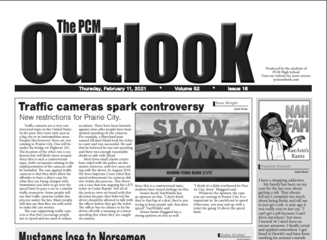 The Outlook - February 11, 2021