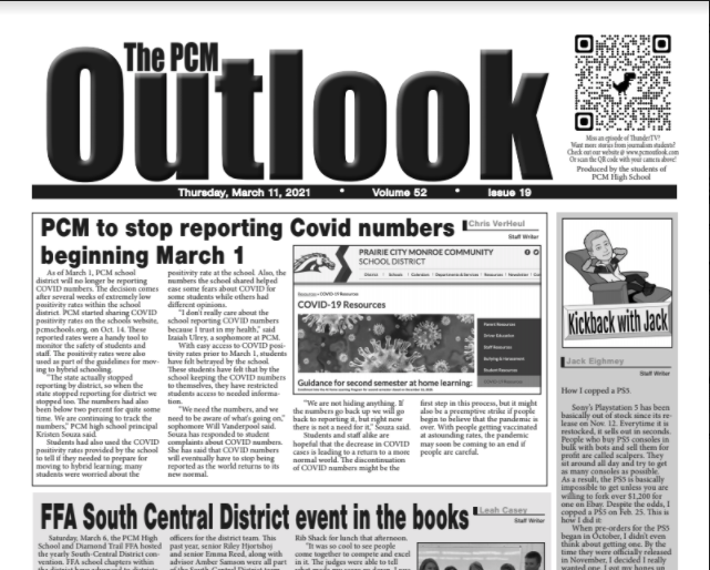 The Outlook - March 11, 2021