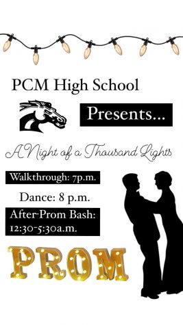 "PCM Prom ""A Night of a Thousand Lights"""