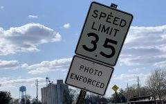 Various speed limit signs in town have had new