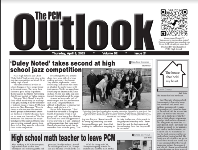 The Outlook - April 8, 2021