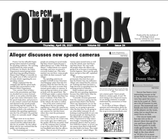 The Outlook - April 29, 2021