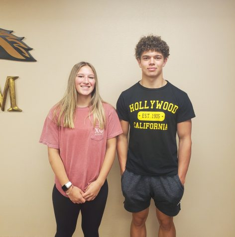 Isabelle Hudnut (Left) and Aiden Anderson (Right
